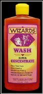WIZARDS DETAILING PRODUCTS, CAR WASH, SUPER CONCENTRATED AUTOMOTIVE, TRUCK, MOTORCYCLE, BIKE, BOAT, PLANE, CAR WASH  11077