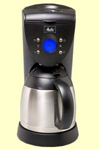 Melitta Coffee Maker 10 Cup Thermal (46894a) : MELITTA 10 CUP, THERMAL COFFEE MAKER, ME10DTB, 10 CUP COFFEE MAKER
