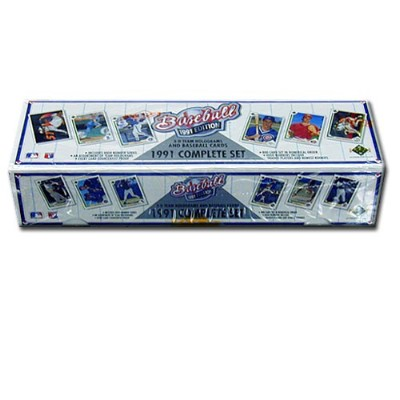 1991 Upper Deck Collectible Baseball Cards