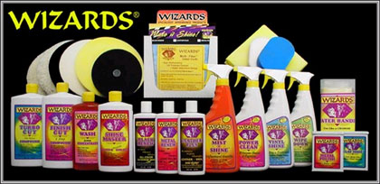 Wizards Detailing Products