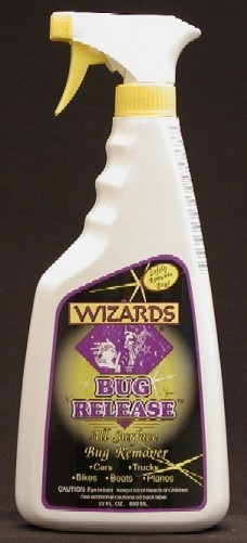WIZARDS, BUG RELEASE.  SPRAY ON BUG REMOVER, and PRE SOAK.  11081