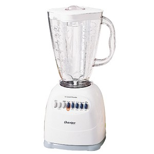 OSTER APPLIANCES, 6640, OSTERIZER, CUBE DESIGN BLENDER.  PROFESSIONAL QUALITY BLENDER