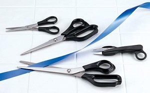 Multi Purpose 4 piece Utility Scissors Set