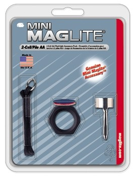 GENUINE MINI MAGLIGHT, 7 PIECE ACCESSORY PACK, AM2A016