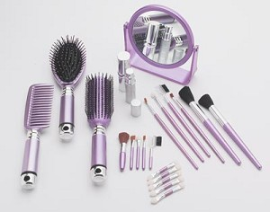NEW ITEM, 22 Piece, Professional Makeup Application Set.  Want a fresh new face?  Use our compelete makeover kit, all you'll need is your favorite makeup, and your lovely face.