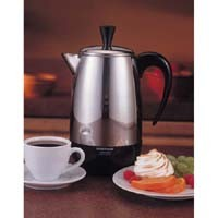Farberware Coffee Maker Cleaning : FARBERWARE, FCP280, PERCOLATOR COFFEE MAKER, 2 TO 8 CUP CAPACITY