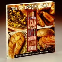 GEORGE FOREMAN RECIPES, LEAN MEAN FAT REDUCING MACHINE RECIPE COOKBOOK, GR150
