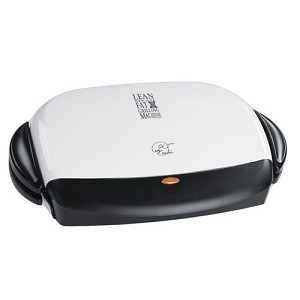 GEORGE FOREMAN GRP4 BBQ GRILL, with Removeable Grill Plates.  Size: LARGE