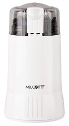 MR COFFEE, IDS55-4, WHITE COFFEE GRINDER