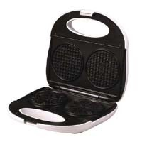 Toastmaster, Deluxe, Electric Pizzelle Cookie Maker.<BR>Makes 2 perfect 4 inch classic style Pizzelles each and every time!