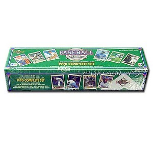 Upper Deck Baseball Cards, 1990 Edition, Factory Sealed Set, The Collectors Choice