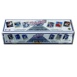 Upper Deck Baseball Cards, 1991 Edition, Factory Sealed Set