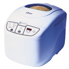 OSTER, 1 lb., 1 1/2 lb., 2LB, 58 MINUTE, EXPRESSS BAKE, BREAD BAKING MACHINE