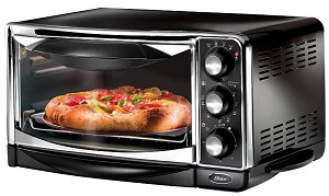 OSTER, CONVECTION TOASTER OVEN, BROILER.  6293