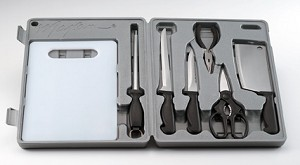 COMPLETE 8 PIECE FISHING KNIFE SET
